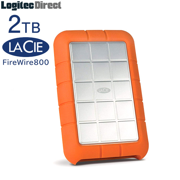 LaCie(ラシー) Rugged TRIPLE 2TB【LCH-RG020T3】