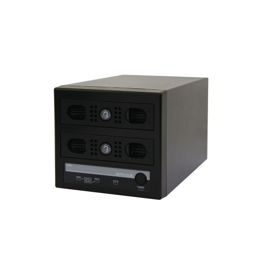 WSS 2012 R2 workgroup Edition 搭載 4TB MiniBOX型【LSV-MS4T/2VKW】【受注生産品(納期目安2~3週間)】